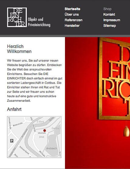 Die Einrichter Website